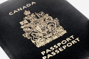 AW6BYY Canadian Passport
